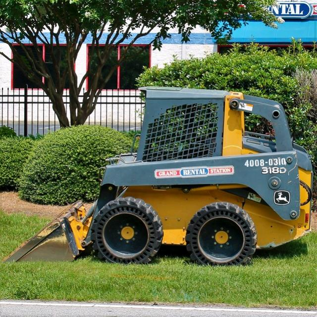 Where to find Skid Steer Loader 318D  58hp in Greensboro