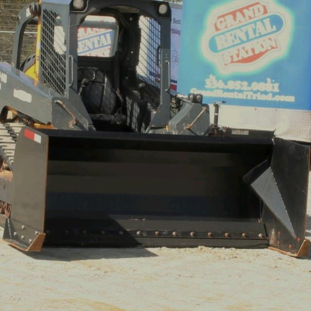 Where to find Skid Steer Snow Pusher Bucket 84 in Greensboro